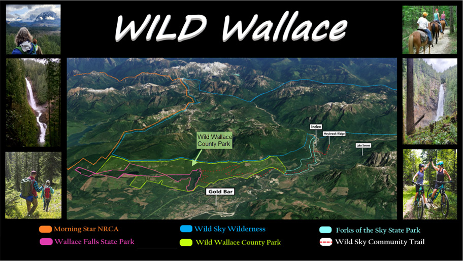 Wild Wallace County Park vision map
